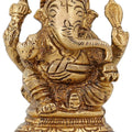 Indian Decorations For Home Ganesha Statue Small Hinduism Symbol 3 inch