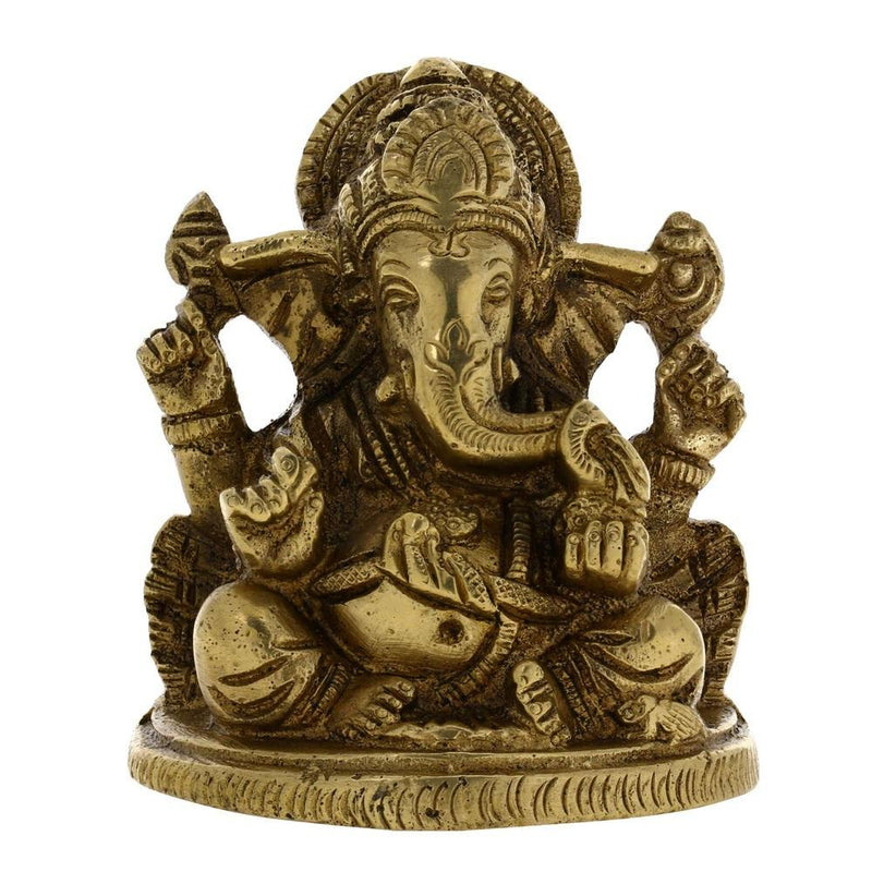 India Figurine Ganesha Idol For Hindu Puja At Home Mandir by ShalinIndia