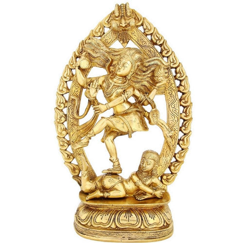 Dancing Lord Shiva Nataraja Hindu God Religious Gifts Large Brass Statue 16 Inch5.8 Kg