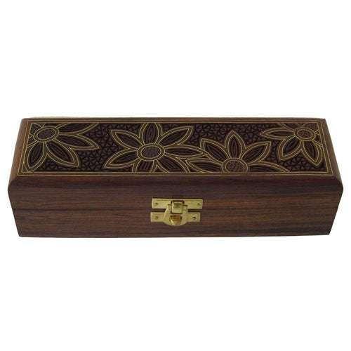 Shalinindia Handmade Indian Wood Jewelry Box - Jewelry Box for Girls and Ladies - Gifts for Girlfriend