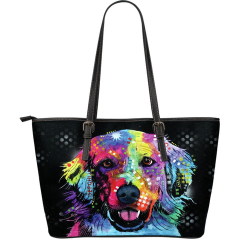 Golden Retriever Leather Totes (Large)