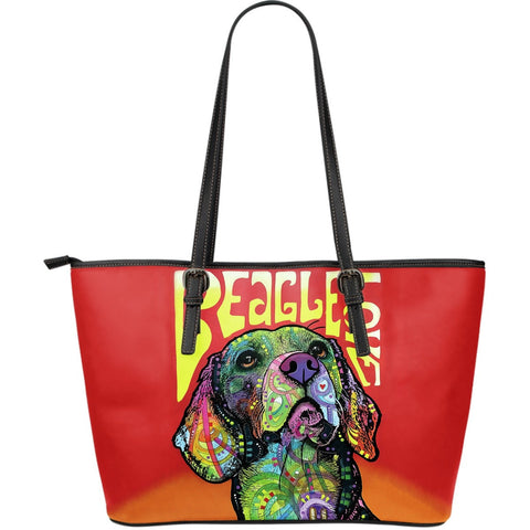 Beagle Leather Totes (Large)