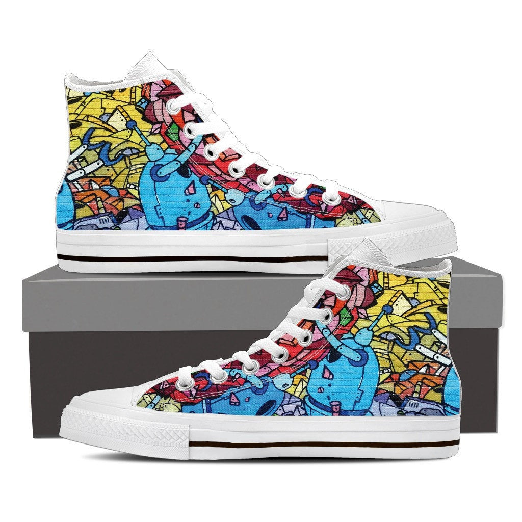 Graffiti High Tops (Mens)