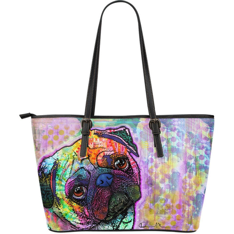 Pug Leather Totes (Large)