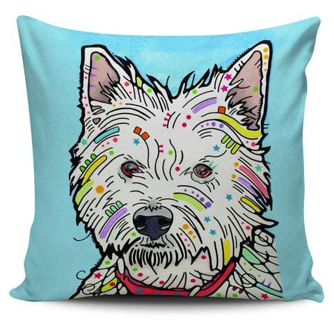 Westie Pillow Covers