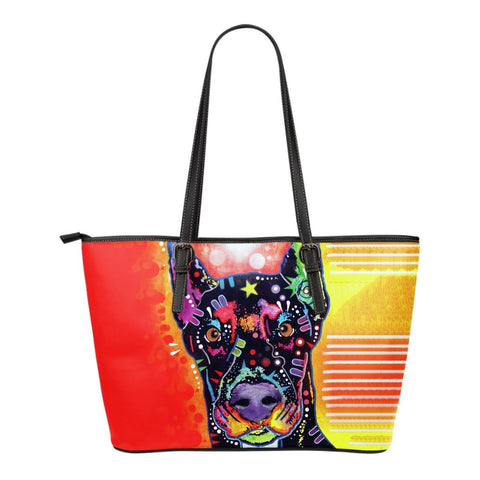 Doberman Leather Totes (Small)