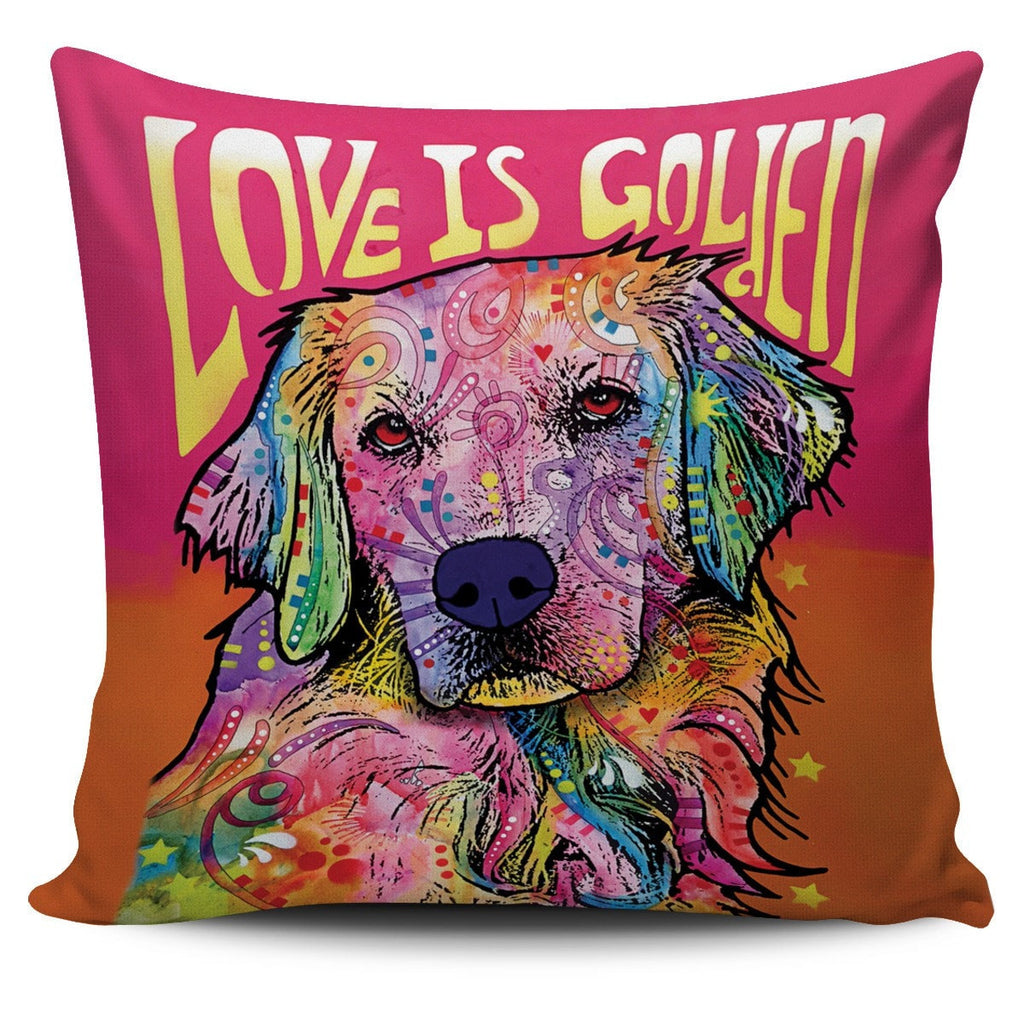 Golden Retriever Pillow Covers