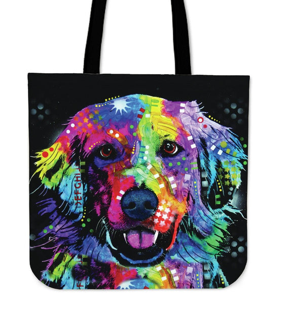 Golden Retriever Tote Bags