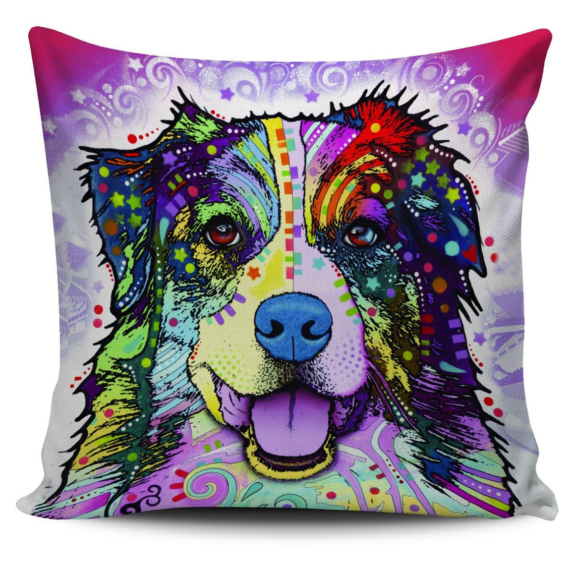 Australian Shepherd Pillow Cover