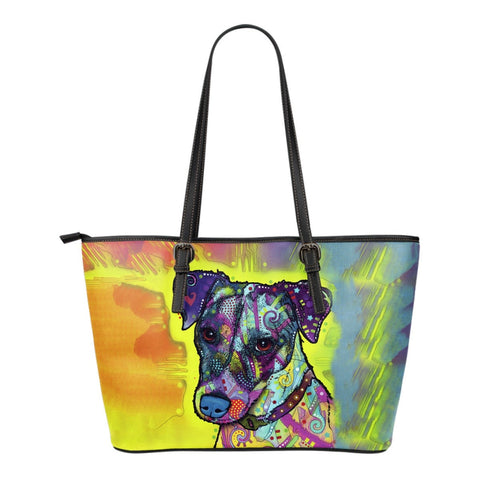 Jack Russell Leather Totes (Small)