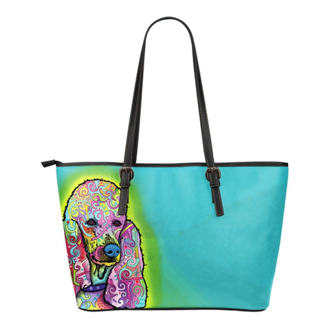 Poodle Leather Totes (Small)