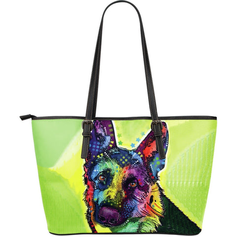 German Shepherd Leather Totes (Large)