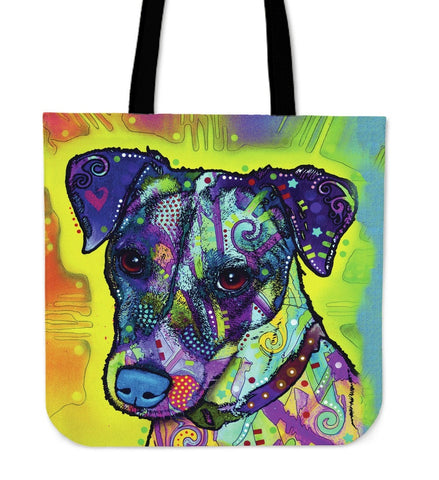 Jack Russell Tote Bags