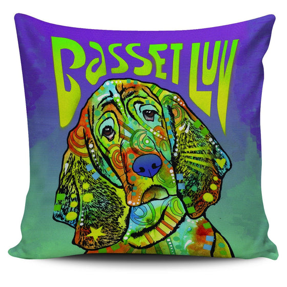 Basset Pillow Covers