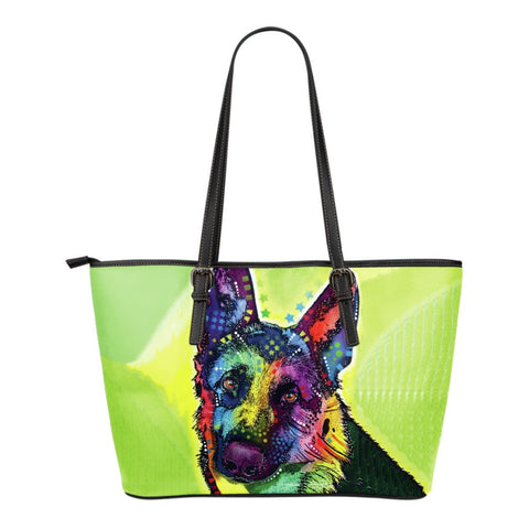 German Shepherd Leather Totes (Small)
