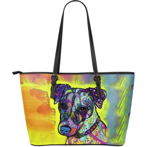 Jack Russell Leather Totes (Large)