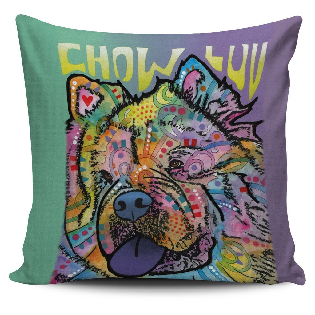 Chow Pillow Cover