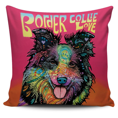 Border Collie Pillow Covers
