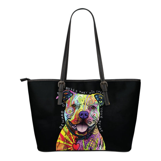 Pit Bull Series I Leather Totes (Small)