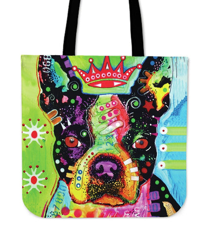 Boston Terrier Tote Bags