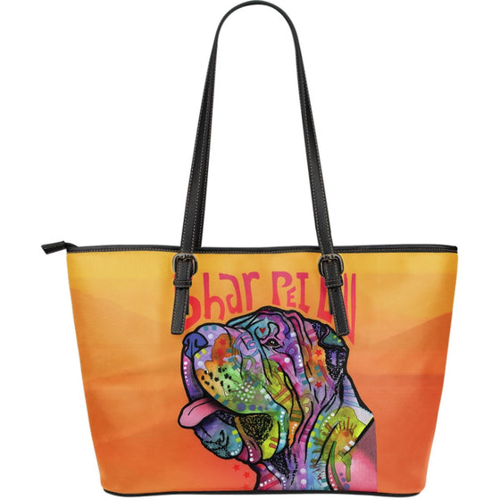 Shar Pei Leather Tote (Large)