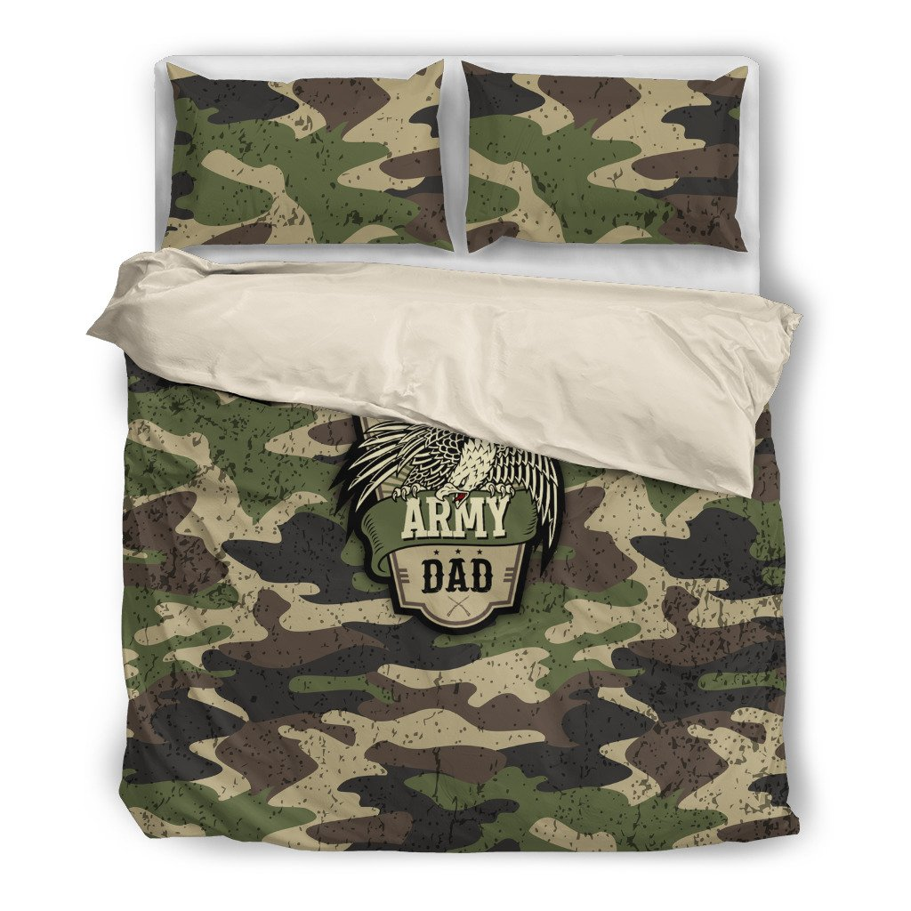 Army Dad Duvet Covers