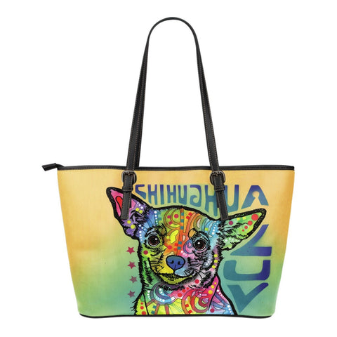 Chihuahua Leather Totes (Small)