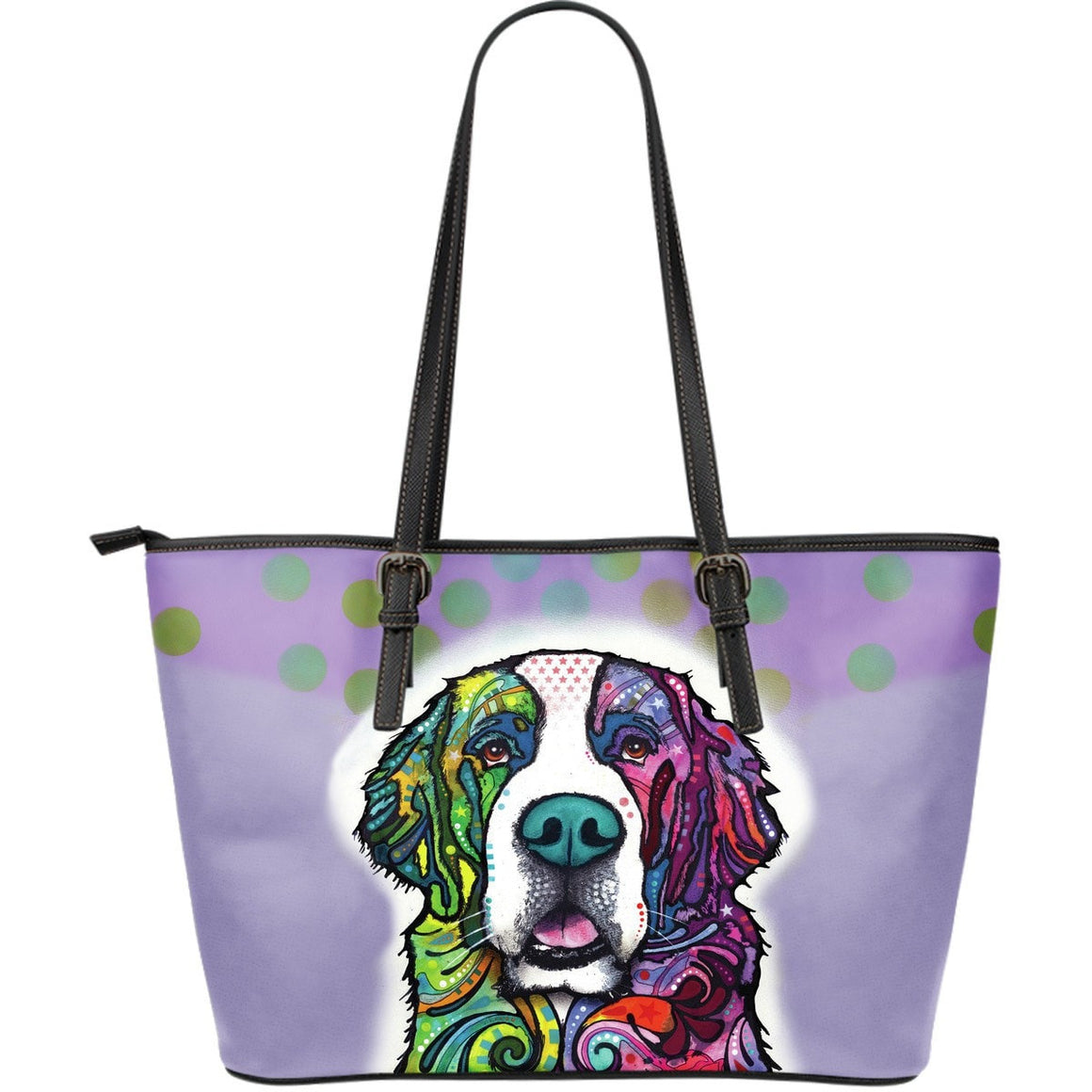St Bernard Leather Totes (Large)