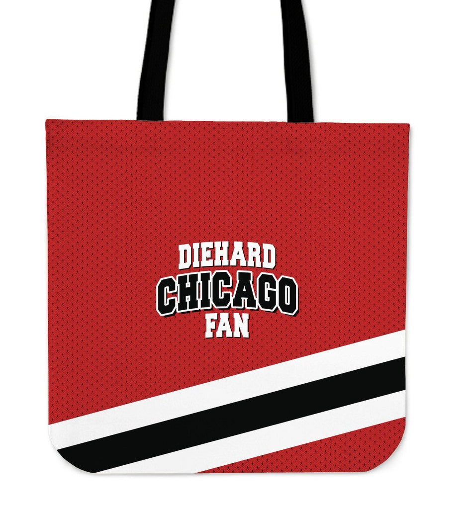 Diehard Chicago Fan Canvas Tote