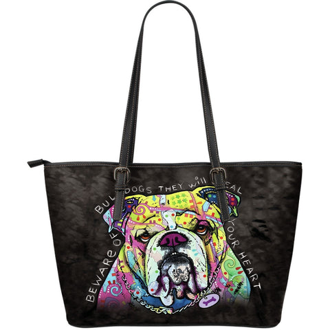 Bull Dog Leather Totes (Large)