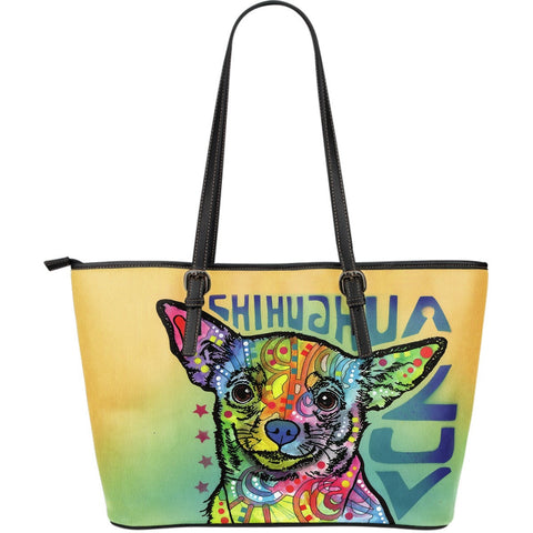 Chihuahua Leather Totes (Large)