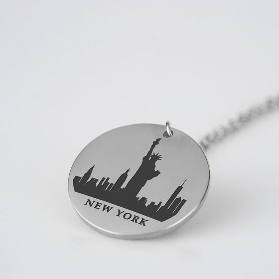 New York Skyline Pendant