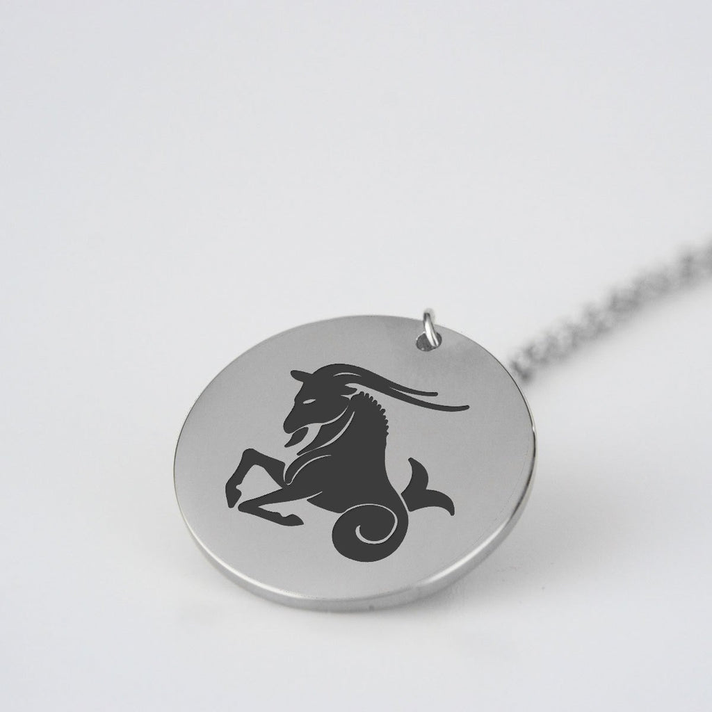 Capricorn Stainless Steel Necklace