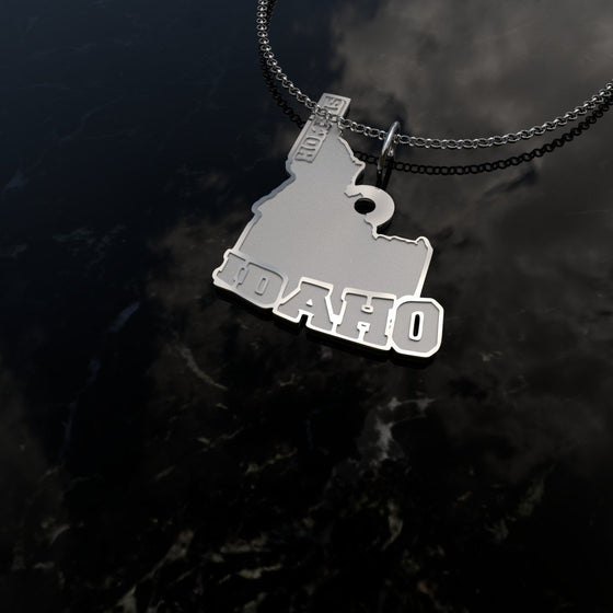 Home Is Idaho - [Solid 925 Sterling Silver] V2