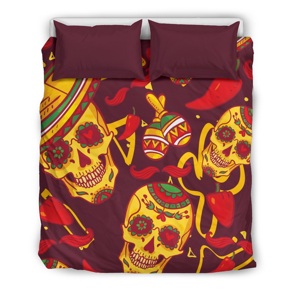 New Mexican Skull Duvet Covers UH39