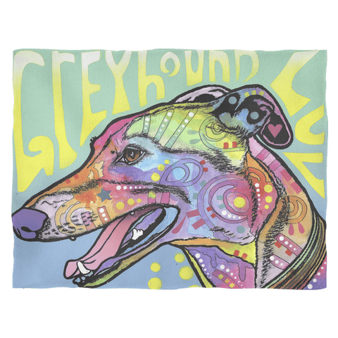 Greyhound Fleece Blanket V1