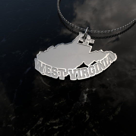 Home Is West Virginia - [Solid 925 Sterling Silver]