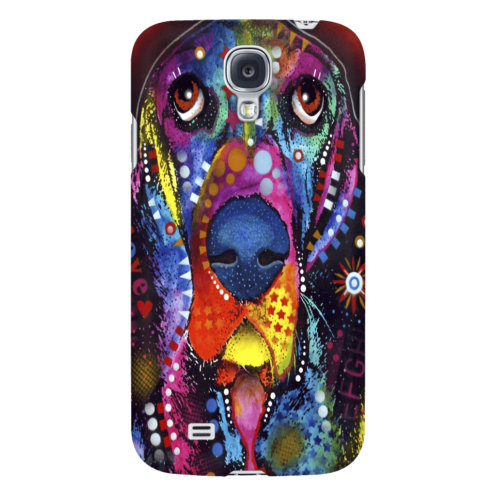 Basset Love Phone Case V2 - Shopping Haven