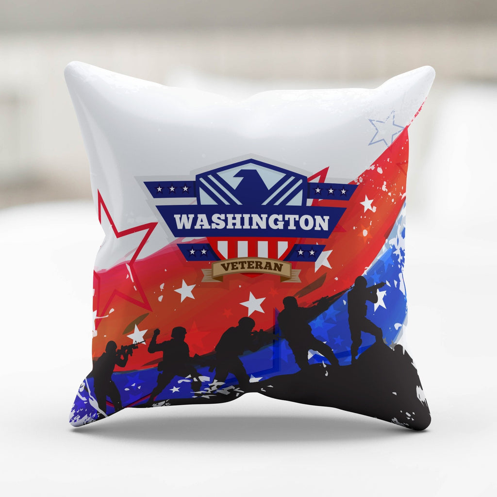 Washington Veteran Pillowcase