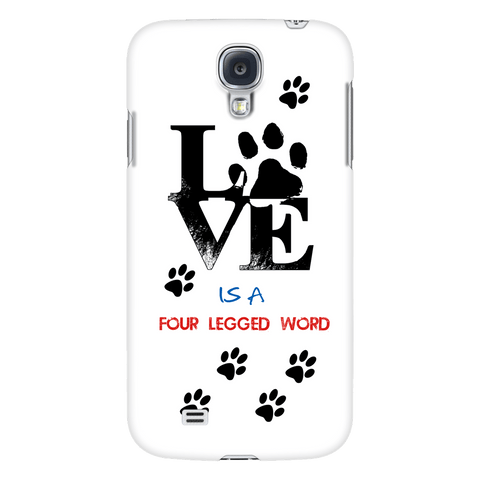 Love Is A Four Letter Word Cell Phone Cover - Shopping Haven