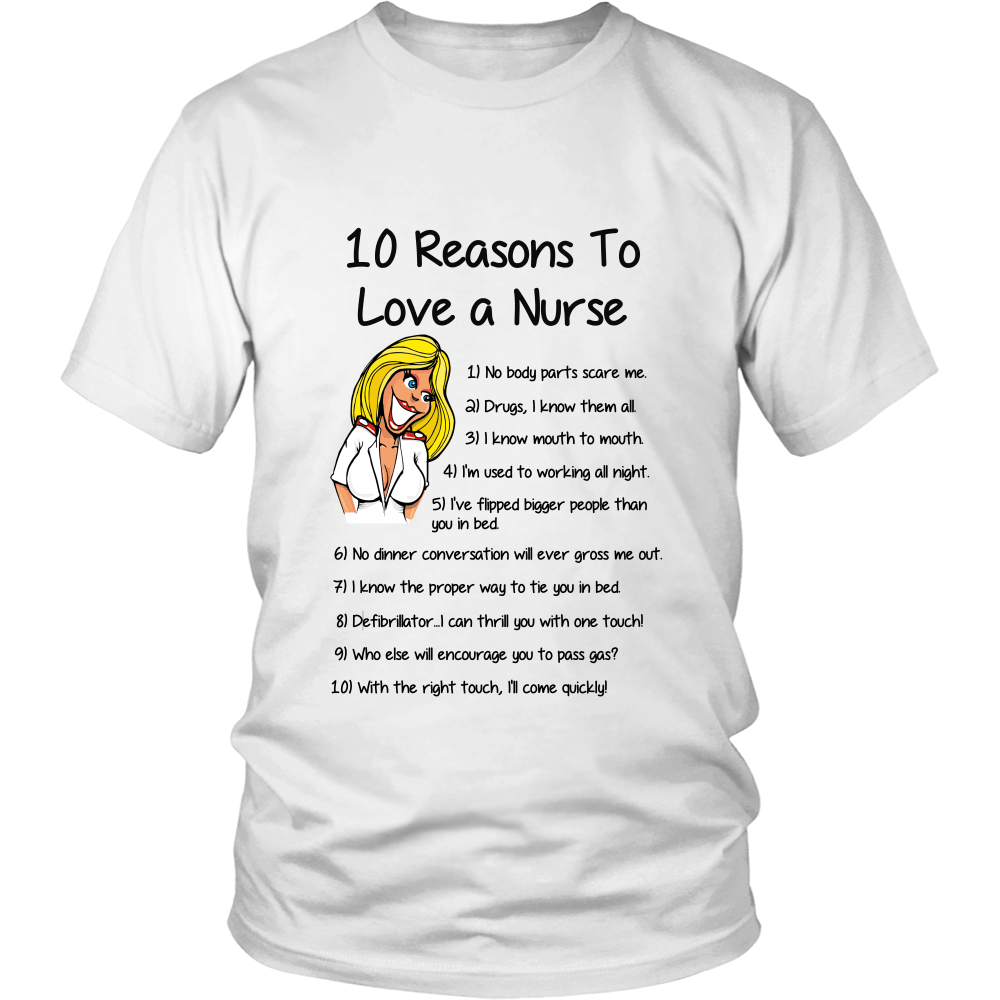 10 Reasons To Love A Nurse - Shopping Haven