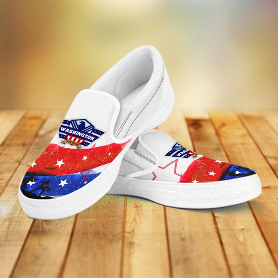 Washington Veteran Slip Ons