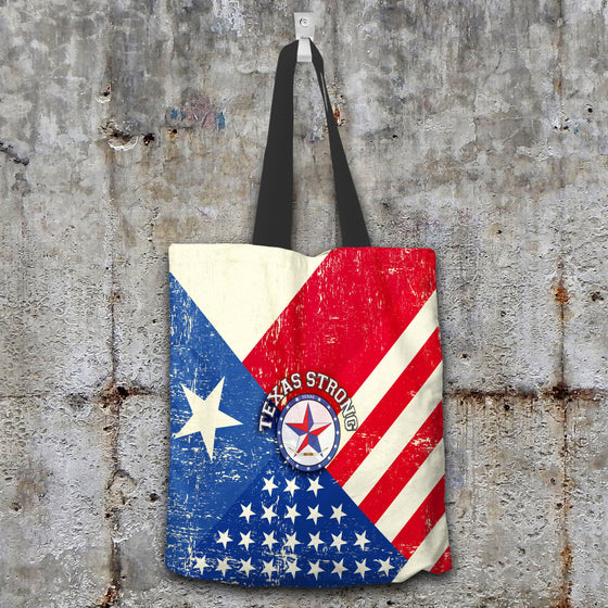 Texas Strong Canvas Tote V2