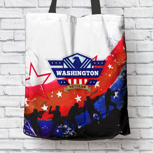 Washington Veteran Tote Bag