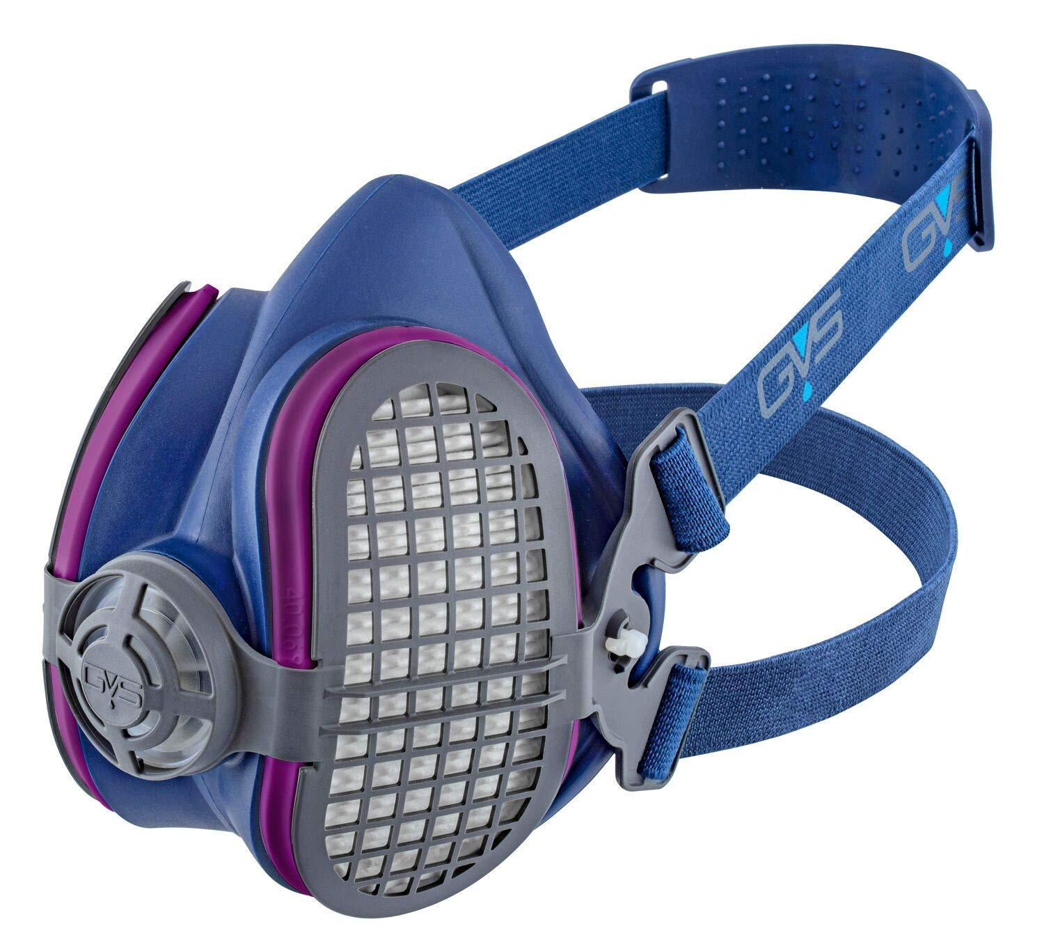 GVS SPR451 Elipse P100 Dust Half Mask Respirator with replaceable and reusable filters included