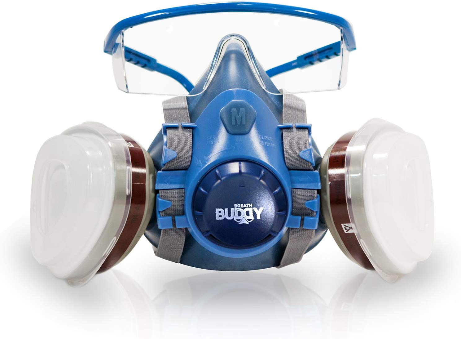 Breath Buddy Respiratory Mask is a professional breathing protection set