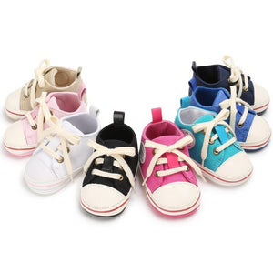Canvas Baby First Walker Sneakers