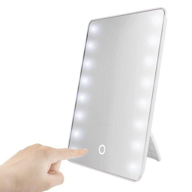 Compact Makeup Mirror with LED lights