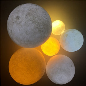 Mystical Moon Light Night Lamp
