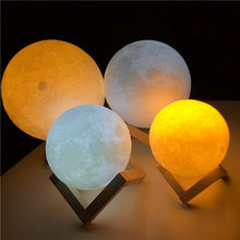 Load image into Gallery viewer, Mystical Moon Light Night Lamp